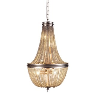 Paloma Collection 1210 Pendant Lamp with Pewter Finish