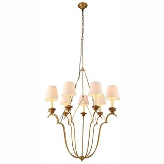Dominion Collection 1439 Pendant Lamp with Golden Iron Finish