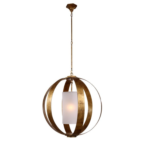 Serenity Collection Eight Pendant Lamp With Golden Iron Finish Free Shipping Today Overstock