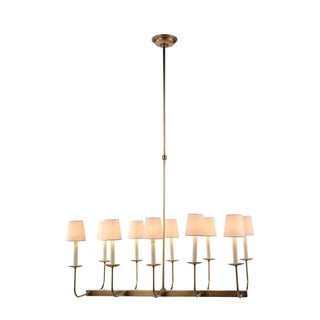 Penelope Collection 1435 Pendant Lamp with Burnished Brass Finish