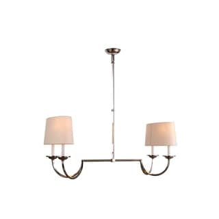 Avanti Collection 1432 Pendant Lamp with Polished Nickel Finish