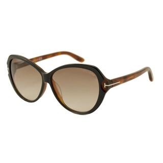 Tom Ford TF9326 Valentina Women's Oversize Sunglasses