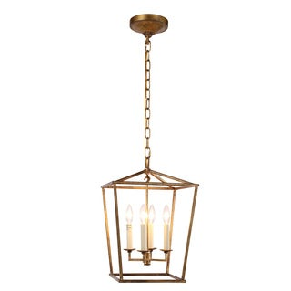 Denmark Collection 1422 Pendant Lamp with Golden Iron Finish