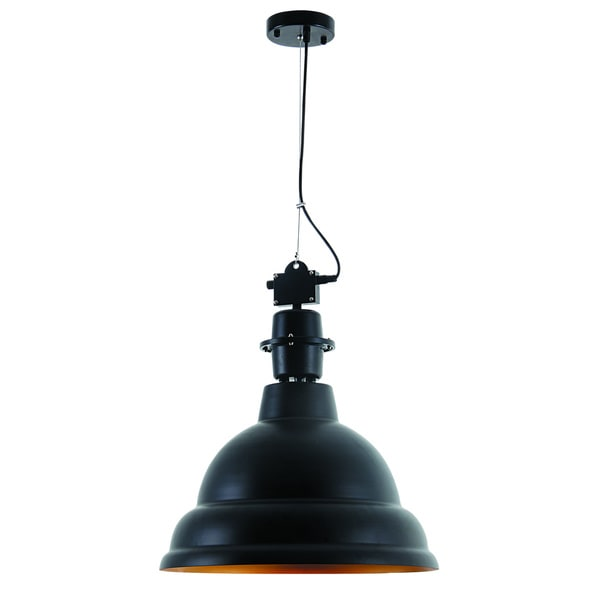 Industrial Collection Pendant lamp with Black Finish