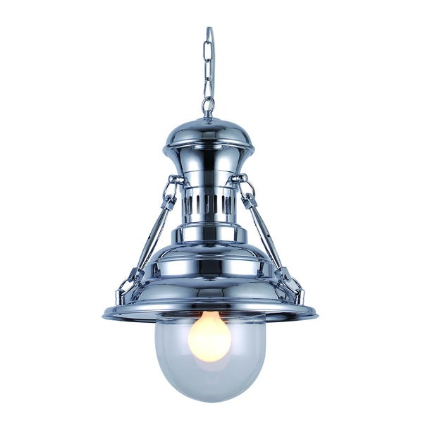 Industrial Collection Pendant lamp with Chrome Finish