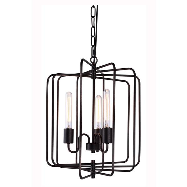 Lewis Collection 1454 Pendant lamp with Dark Bronze Finish