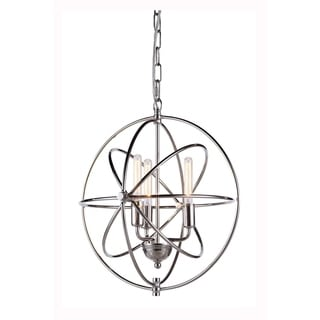 Vienna Collection 1453 Pendant lamp with Polished Nickel Finish