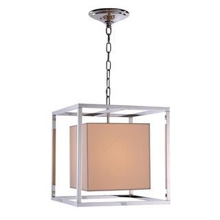 Quincy Collection 1416 Pendant lamp with Polished Nickel Finish