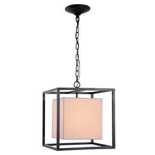 Quincy Collection 1416 Pendant lamp with Antique Bronze Finish