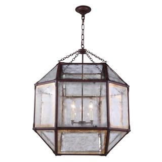 Gordon Collection 1413 Pendant lamp with Saddle Rust Finish