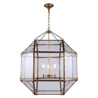 Gordon Collection 1413 Pendant lamp with Golden Iron Finish