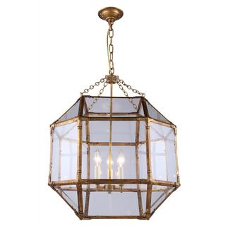 Gordon Collection 1413 Pendant lamp with Polished Nickel Finish