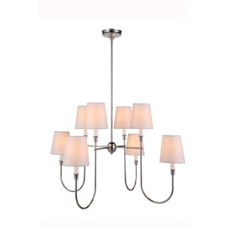 Lancaster Collection 1411 Pendant lamp with Polished Silver Finish