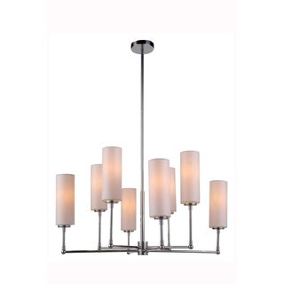 Richmond Collection 1410 Pendant lamp with Polished Nickel Finish