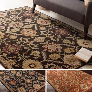 Hand-Tufted Dreux Floral Wool Rug (4' x 6')