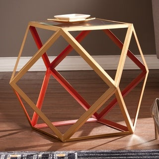 Harper Blvd Joss Red/ Champagne Accent Table