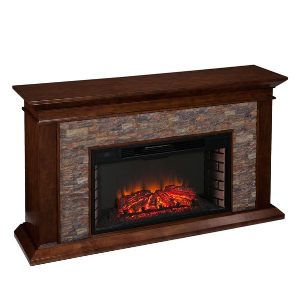 Upton Home Utley 60 Inch Simulated Stone Electric