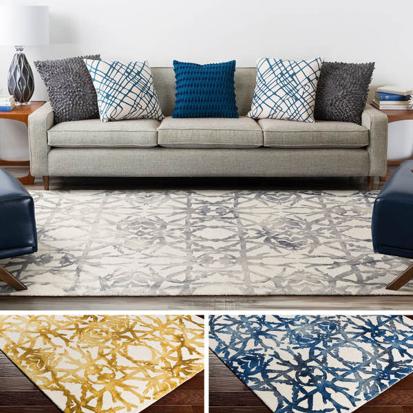 Hand Tufted Madrid Wool Rug 4 X 6 17697955