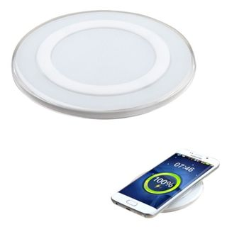 Insten 5V/ 2A LED Wireless Charger Pad for Samsung Galaxy S6/ Edge