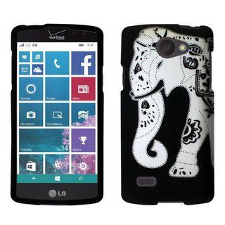 Insten Design Pattern Hard Snap-on Rubberized Matte Phone Case Cover For LG Lancet