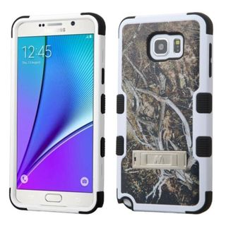 Insten Design Pattern Tuff Hard PC/ Silicone Dual Layer Hybrid Phone Case Cover with Stand For Samsung Galaxy Note 5