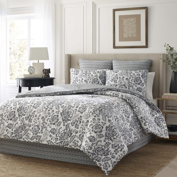 Stone Cottage Constance Cotton Sateen Comforter Set