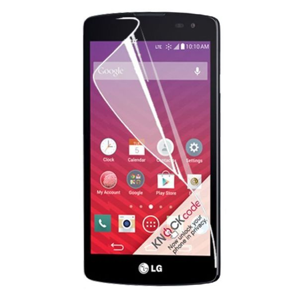 Insten Clear LCD Phone Screen Protector Film Cover For LG Optimus F60 (Single/ Pack of 2)