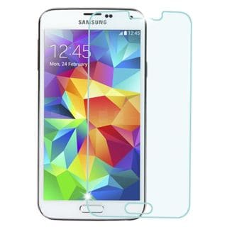 Insten Clear Tempered Glass LCD Phone Screen Protector Film Cover For Samsung Galaxy S5