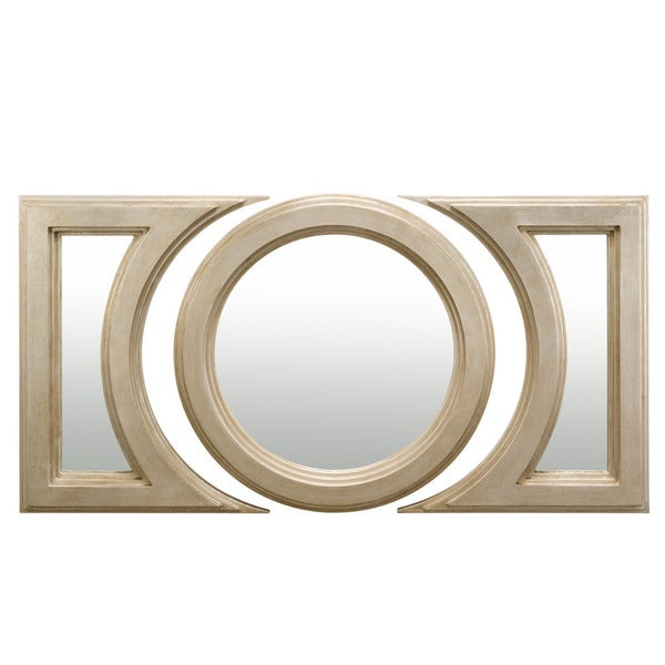 Kichler Lighting Lunar Collection Distressed Silver Decorative Wall Mirror