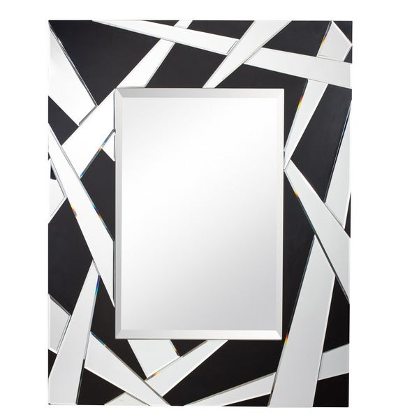 Kichler Lighting Cutting Edge Collection Matte Black Decorative Wall Mirror