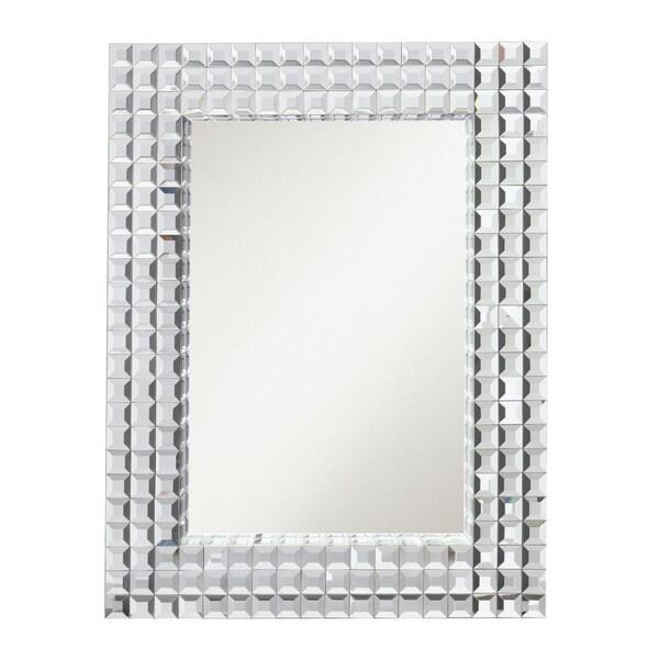 Kichler Lighting Bling Multi-Beveled Tile Mirrored Decorative Wall Mirror