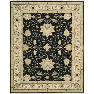 Nourison Suf I Noor Black Rug (8'10 x 11'10)