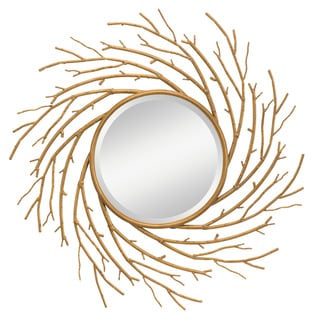 Kichler Lighting Kayla Antique Gold Decorative Wall Mirror