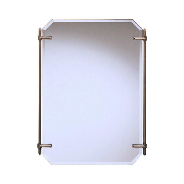 Kichler Lighting Polygon Collection Antique Pewter Decorative Wall Mirror