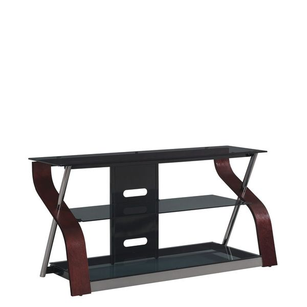 "Cooper TV Stand for TVs up to 55"", Dark Cherry"
