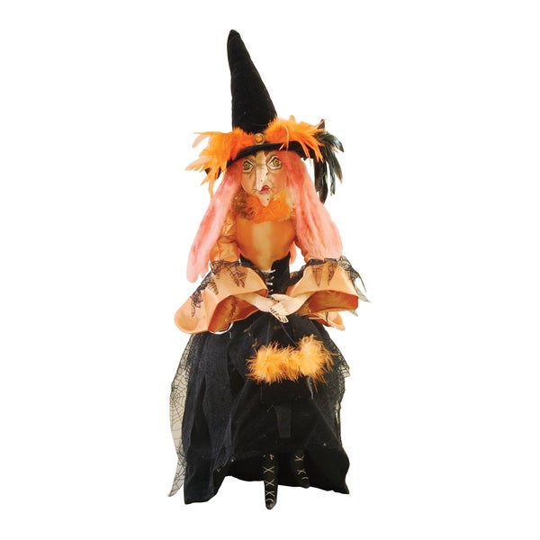 """Lucille"" Witch Figure"