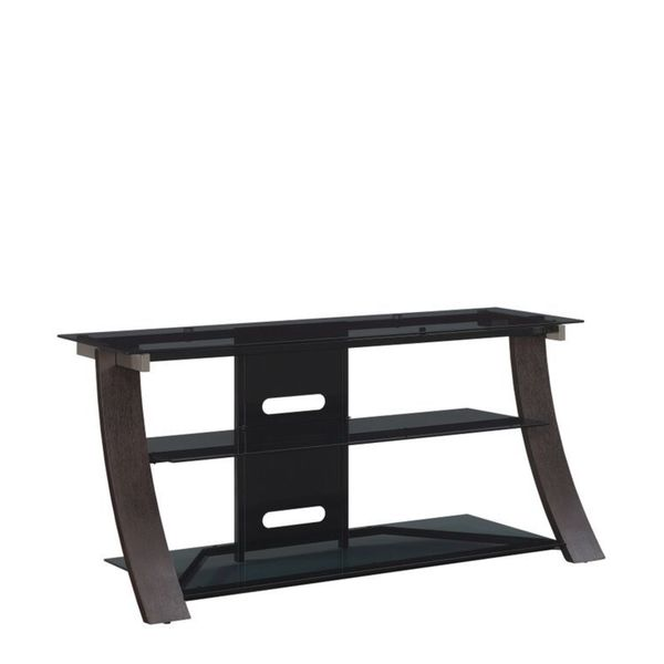 "Chelsea TV Stand for TVs up to 55"", Dark Espresso"
