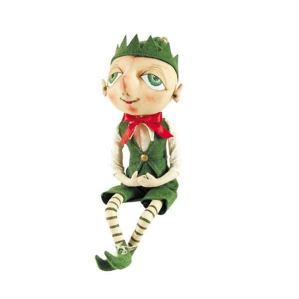 """""""Bartholomew"""" Elf Figure"""