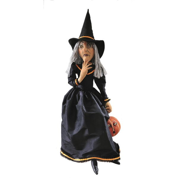 """Clarice"" Witch Figure"