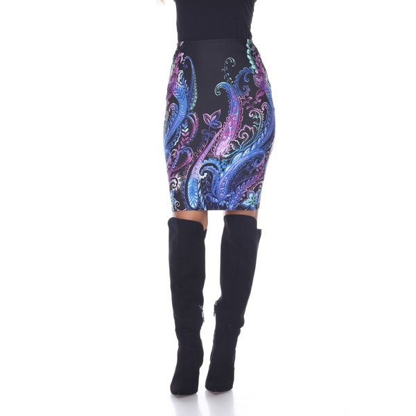 Women's Pretty and Proper Print Pencil Skirt