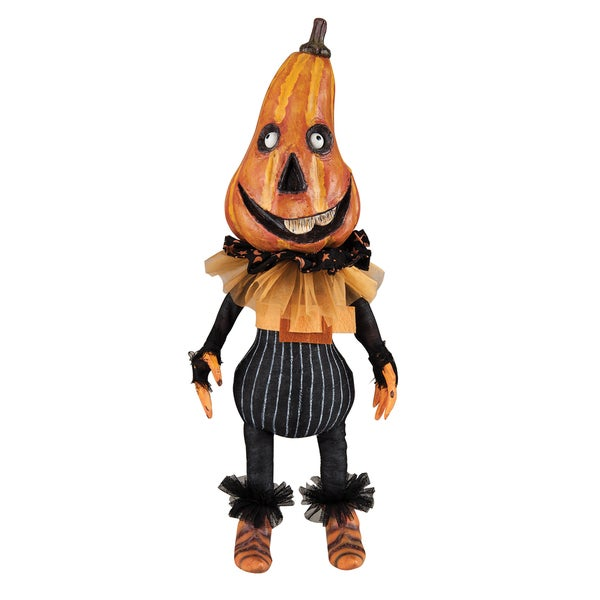Dugan Pumpkin Head Figure