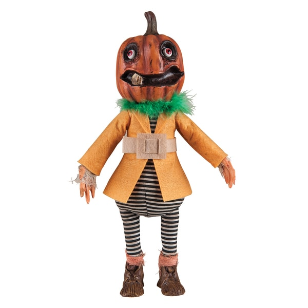 Sylvester Pumpkin Head Figure