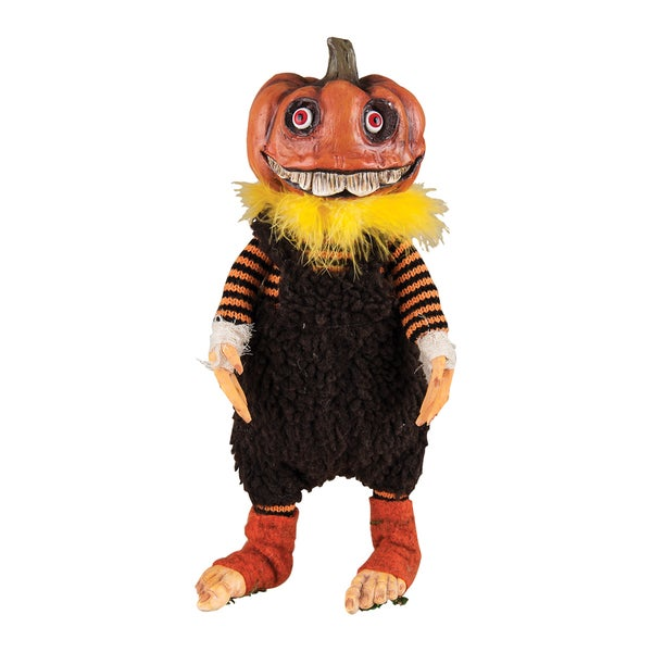 Jack Pumpkin Head Figure
