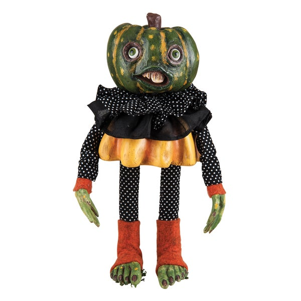 Jackie Pumpkin Head Figure
