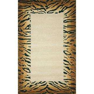 Tiger Border Indoor Rug (9' x 12')