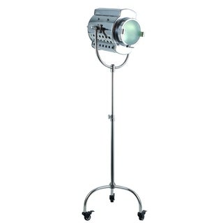 Ansel Tripod Floor Lamp with Chrome Finish