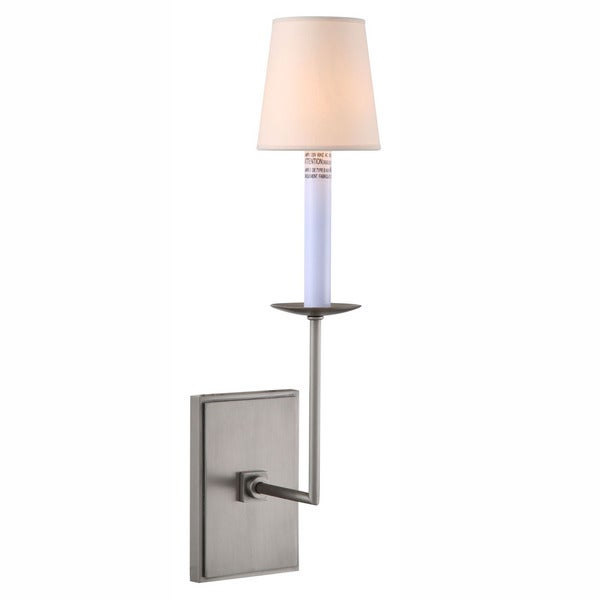 Astana Collection 1436 Wall Sconce with Vintage Nickel Finish