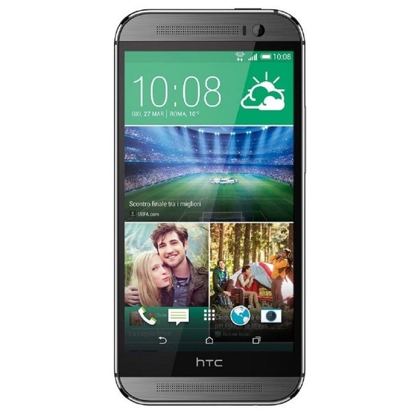 HTC One M8 32GB Verizon Unlocked GSM 4G LTE Quad-Core Dual Speakers Dual-Camera Smartphone - Grey (Refurbished)