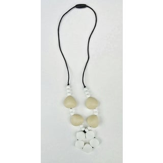 Pretty Little Stye Black and Tan BPA Free Silicone Loop Teething Necklace