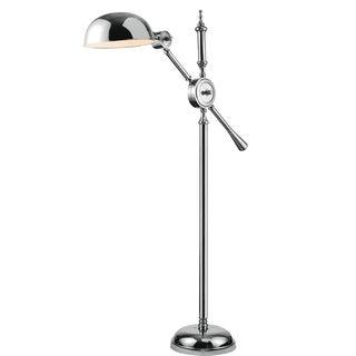 Elegant Lighting Vintage Task Floor Lamp with Chrome Finish